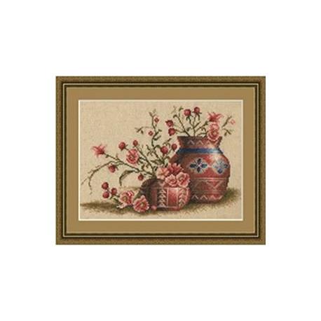 Набор для вышивки крестом Золотое Руно ФИ-003 Персиковый Цвет