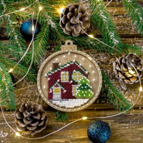 Набор для вышивания бисером по дереву Волшебная страна FLK-369