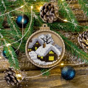 Набор для вышивания бисером по дереву Волшебная страна FLK-370