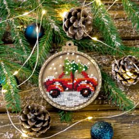 Набор для вышивания бисером по дереву Волшебная страна FLK-371