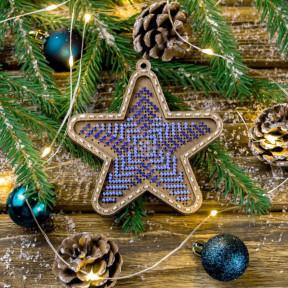 Набор для вышивания бисером по дереву Волшебная страна FLK-373