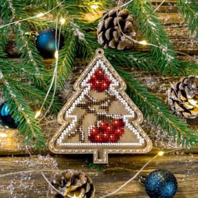 Набор для вышивания бисером по дереву Волшебная страна FLK-374