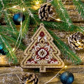 Набор для вышивания бисером по дереву Волшебная страна FLK-375