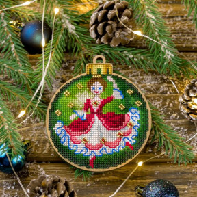 Набор для вышивания нитками по дереву Волшебная страна FLW-006