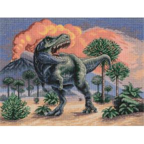 Тираннозавр Набор для вышивки крестом Panna Ж-7216