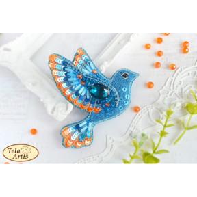 """Набор для вышивания бисером Tela Artis """"Синяя птица счастья"""" Б-025"""