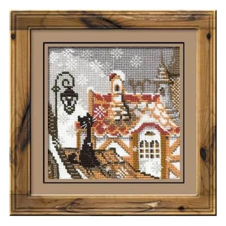 Набор для вышивки крестом Риолис 610 Зима фото