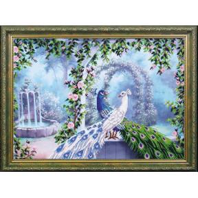 Набор для вышивания Магия Канвы Б-201 Райский сад