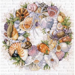Венок из ракушек Набор для вышивания крестом Classic Design 4502
