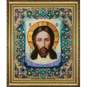 Набор для вышивания бисером Картины Бисером Икона Спас Нерукотворный P-432