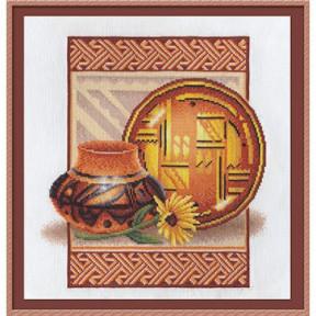Глиняная посуда Набор для вышивки крестом Panna Н-0839пн
