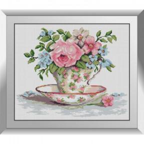 Набор алмазной живописи Dream Art Чайный букетик 31584D