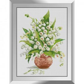 Набор алмазной живописи Dream Art Ландыши в вазе 31588D
