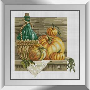 Набор алмазной живописи Dream Art Тыквенный натюрморт 31589D