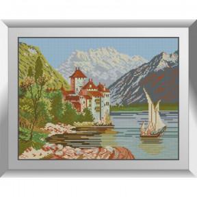 Набор алмазной живописи Dream Art Озерный замок 31593D