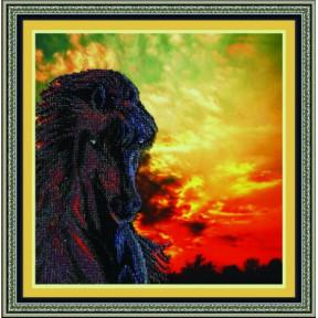 Набор для вышивания Картины Бисером Р-011 Мустанг