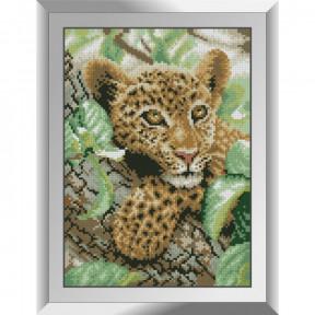 Набор алмазной живописи Dream Art Детеныш леопарда 31614D