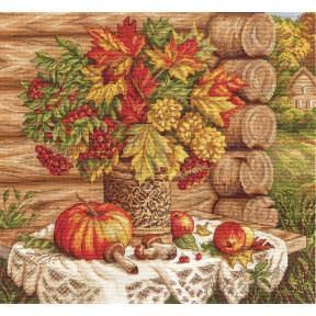 Осенний натюрморт Набор для вышивки крестом Panna N-1392