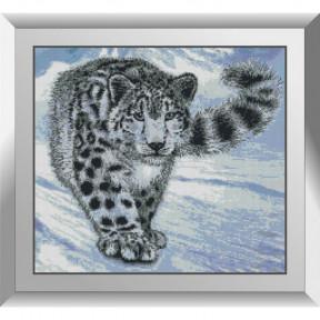 Набор алмазной живописи Dream Art Снежный барс в горах 31619D