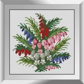 Набор алмазной живописи Dream Art Букетик колокольчиков 31620D
