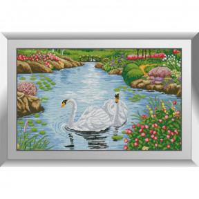 Набор алмазной живописи Dream Art Лебединое озеро 31624D