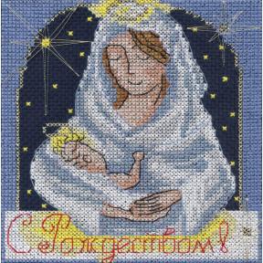 Праздничные миниатюры. С Рождеством Набор для вышивки крестом Panna OT-1355