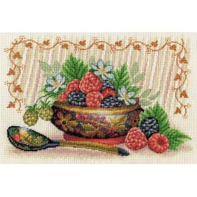 Садовые ягоды Набор для вышивки крестом Panna NH-1812