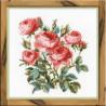 Набор для вышивки крестом Риолис 1046 Садовые розы фото