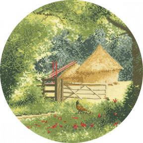 Haystacks Набор для вышивания крестом Heritage Crafts H507