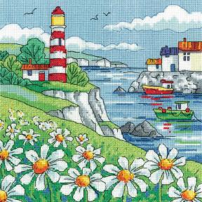 Daisy Shore Набор для вышивания крестом Heritage Crafts H1520