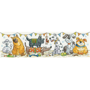 Dog Show Набор для вышивания крестом Heritage Crafts H1540