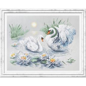 Свадебный вальс Набор для вышивки крестом Чудесная игла 130-061