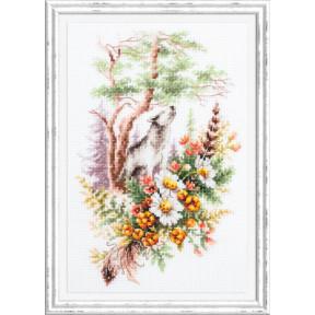 Дух осеннего леса Набор для вышивки крестом Чудесная игла 200-019