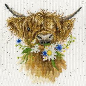 Набор для вышивания крестом Daisy Coo Дейзи Ку Bothy Threads XHD42