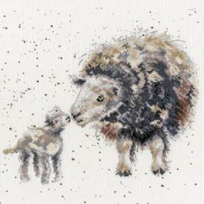 Набор для вышивания крестом Ewe And Me Овца и я Bothy Threads