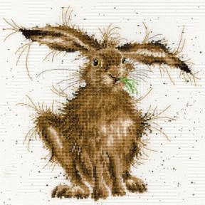 Набор для вышивания крестом Hare Brained Заяц Bothy Threads