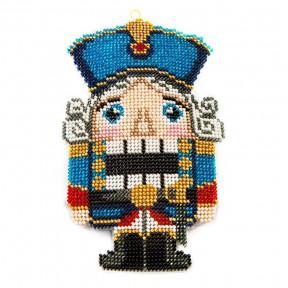 Набор для вышивания бисером объемной новогодней игрушки Golden Key N-045