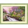 Набор для вышивки крестом Риолис 1098 Весенний Пейзаж фото