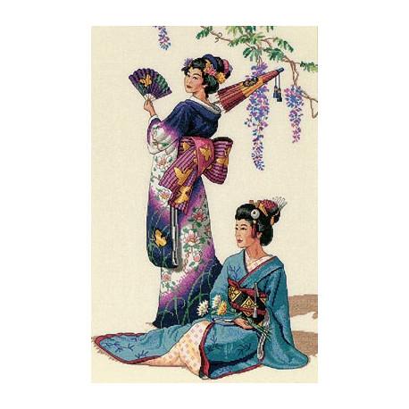 Набор для вышивки Dimensions 03898 Jewels of the Orient фото