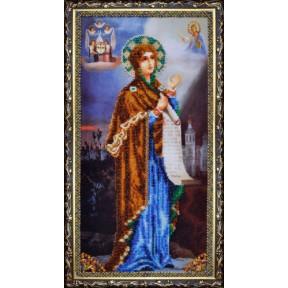 Набор для вышивания Картины Бисером Р-077 Икона Божьей Матери Боголюбской