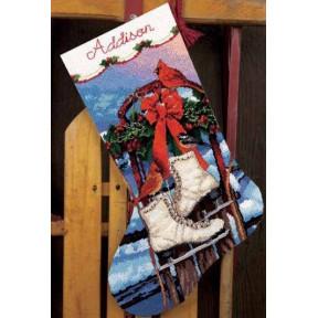 Набор для вышивания сапожка Dimensions 71-09152 Ice Skates