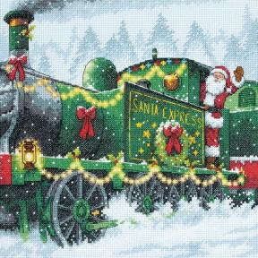 Набор для вышивания Dimensions 70-08918 Santa Express