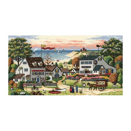 Набор для вышивки крестом Dimensions 03896 Cozy Cove фото
