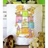 Набор для вышивания детского одеяла Dimensions 73537 Baby