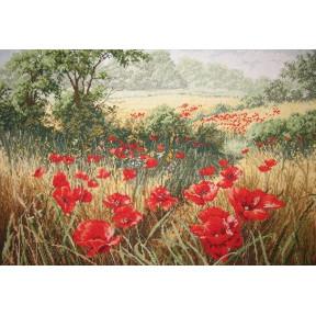 Набор для вышивания Anchor APC935 A Host Of Poppies / Маковое поле