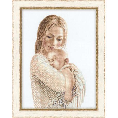 Набор для вышивки крестом Риолис v100/033 Нежность фото
