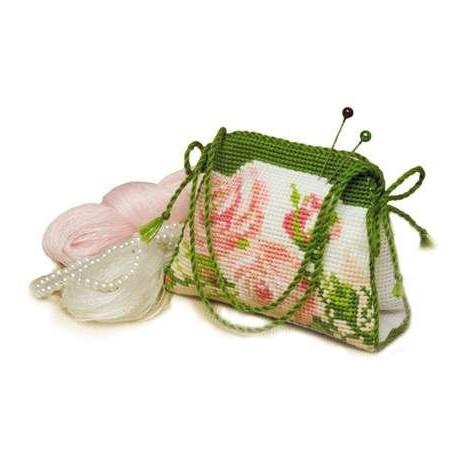 Набор для вышивки крестом Риолис 756 Игольница сумочка фото