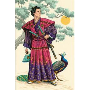 Набор для вышивки крестом Dimensions 03881 The Mighty Samurai