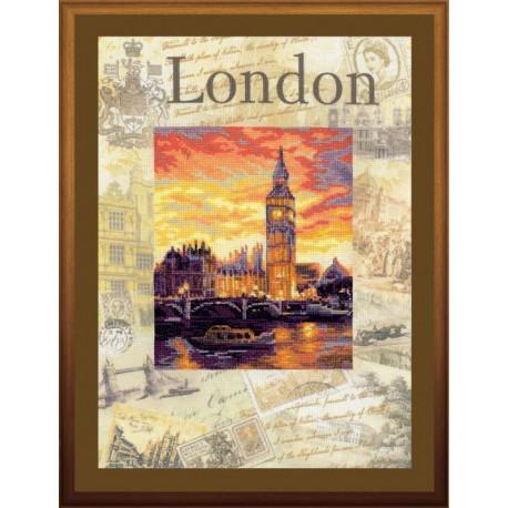 Набор для вышивки крестом Риолис РТ-0019 Лондон.Город мира фото
