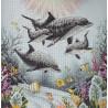 Набор для вышивания Dimensions 35186 Dolphin Morning фото